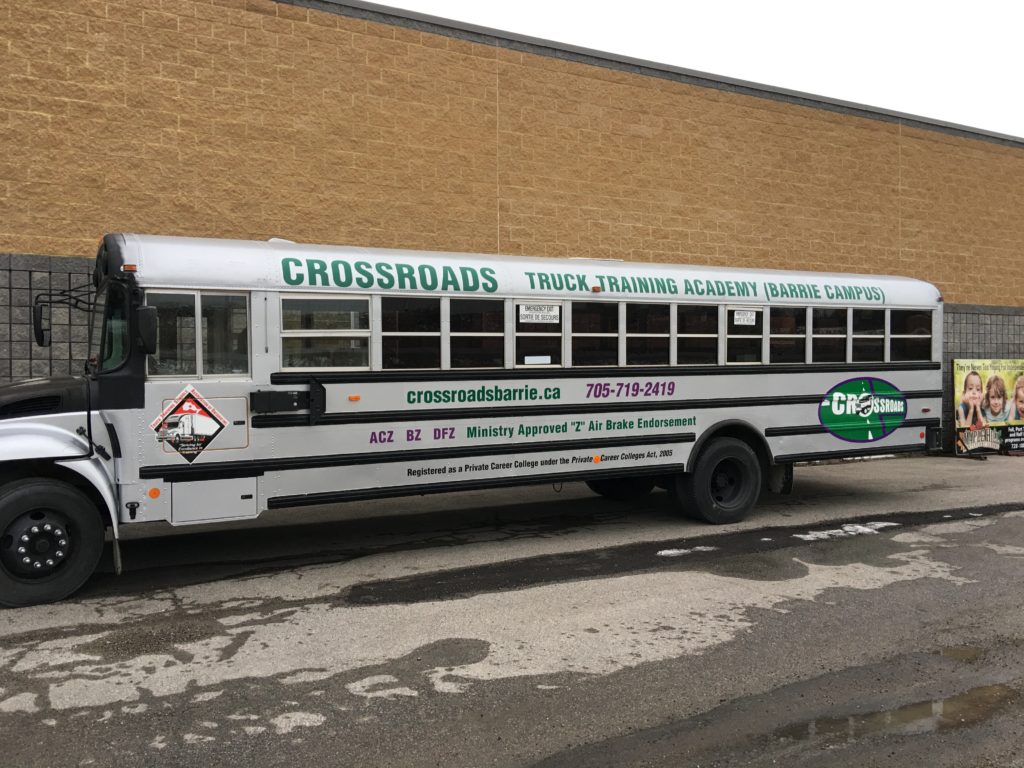 Crossroads School Bus Training