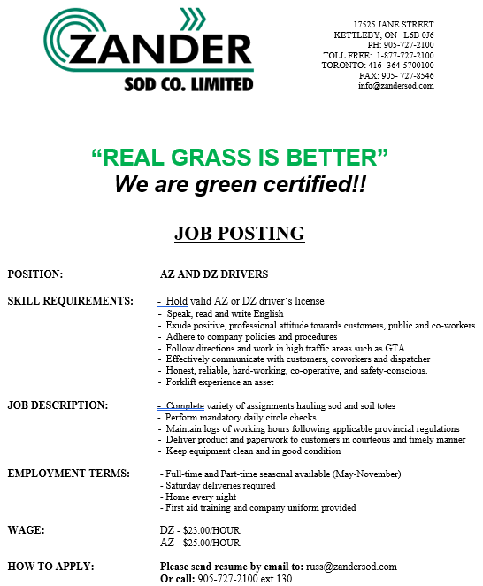 Job Opportunities for Truck and Bus Drivers | CROSSROADS