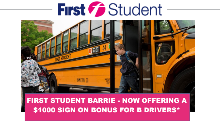 First Student Canada Bus Drivers